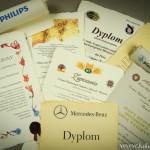 Dyplomy, Certyfikaty